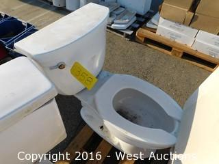 Kohler Toilet with Tank