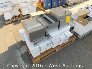 Pallet of Washroom Equipment
