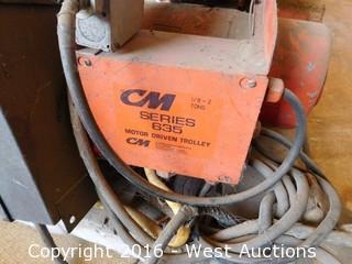 CM 2 Ton Electric Chain Hoist