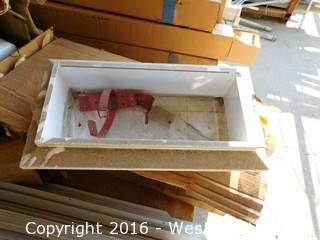 (4) Fire Extinguisher Cabinets