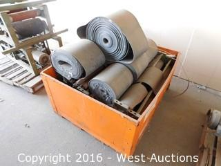 Box of Rollertable Belts and Assembly Parts