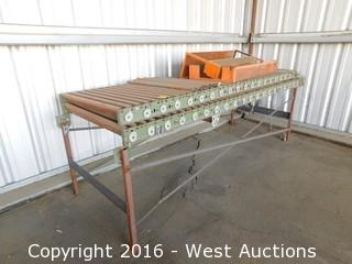 (2) 10'x3' Roller Tables