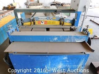 Roper Whitney PH-452 Hydraulic Shear and Leveler Combo