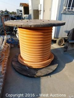 "Spool of 2"" Plastic Piping"