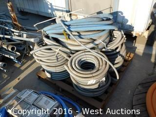 Pallet of Steel Conduit Bundles