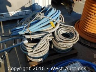 Pallet of Steel Conduit Bundles