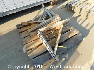 Pallet with (8) Steel Braces