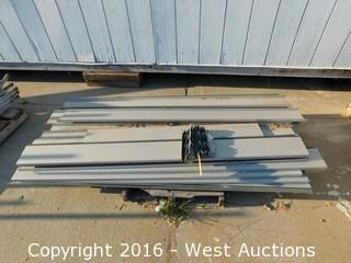 "Pallet with 6'x71"" Galvanized Steel Studs"