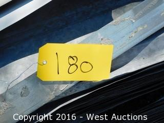 "Lot of Corrugated Sheet Metal 32""Wx30'L"