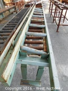 (2) 10' Roller Tables