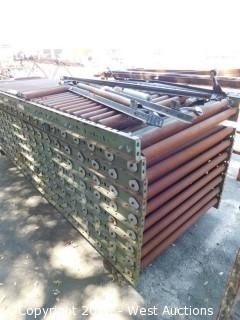 Lot of (10) Logan Roller Tables