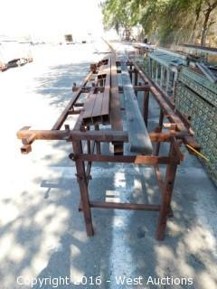 12.5' Long Welded Table