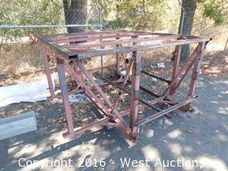 Specialty Welded Steel Work Platform