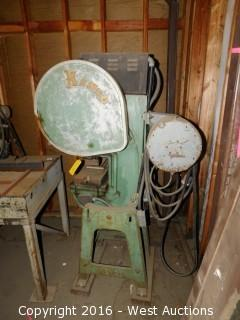 Kenco Model 15F-2 Punch Press