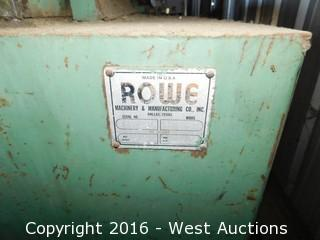 Rowe Sheet Metal Coil Machine