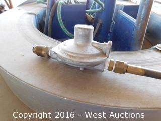 """Rotary Coil Mount with 4-1/4"""" Sheet Metal Coil"""