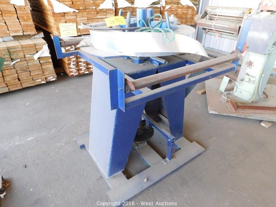 Equipment Trailers, Machinery, Lumber, Sheet Metal Stock and Tools