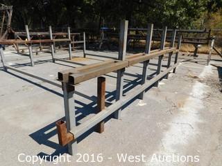 Heavy Welded Steel Specialty Rack