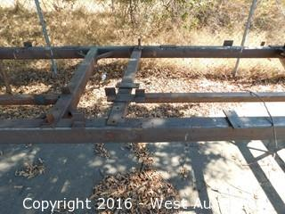Specialty Welded Steel Work Platform 16' x 41""