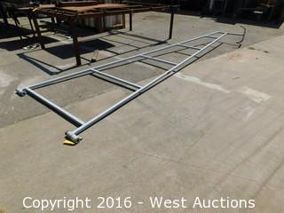 Welded Steel Gate Frame