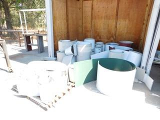 Room of Assorted Sheet Metal Coil Remnants