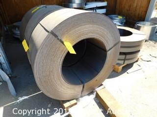 Banded Sheet Metal Coil 14 1/2""