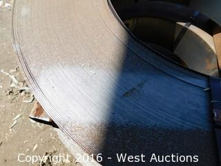 (2) Banded Sheet Metal Coil 6 1/2""