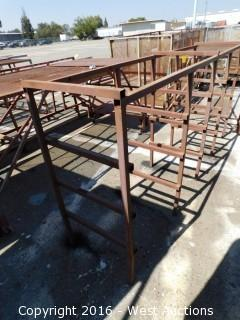 Welded Material Rack