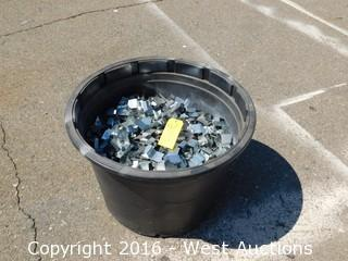 Barrel of Sheet Metal Clips