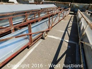 45' Sheet Metal Stock Cart and Formed Sections