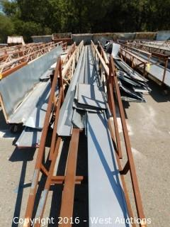 60' Sheet Metal Stock Cart and Formed Sections