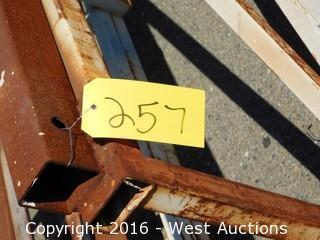 45' Sheet Metal Stock Cart