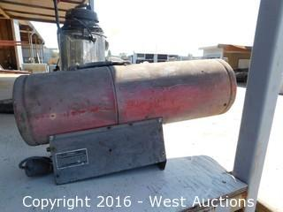 Universal 150,000 BTU Heater with Propane Hookup