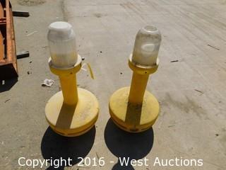 (2) Wobble Light Units