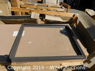 Large Pallet of Double Glazed Panels