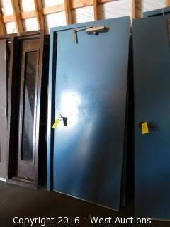 Encased Metal Door