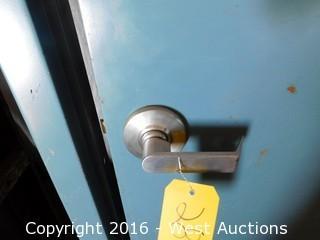 Encased Metal Door