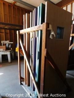 Pallet of (9) Commercial Solid Core Doors