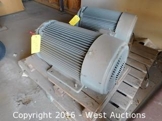 Us Electric Unimount 25HP High Efficiency Motor