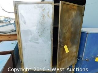 Portable Shop Cabinet with Electric Hookup