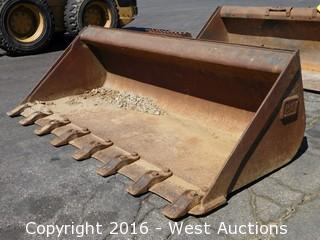 "CAT 61"" Skid Steer Bucket"
