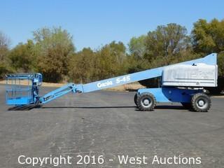 2000 Genie S-45 4x4 Boom Lift