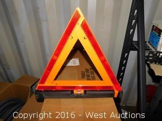 (3) Collapsible Caution Signs