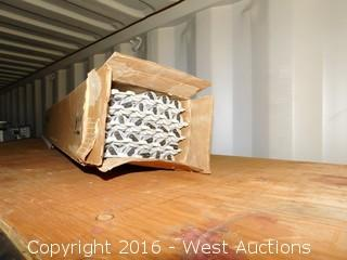 Contents of Top Shelf - Fluorescent Light Bulbs and more