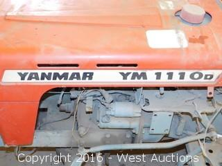 Yanmar YM 110D Tractor