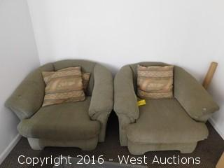 (2) Benchcraft Chairs