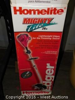 Homelite Mighty Light 26e Gas Edger and Weed Eater