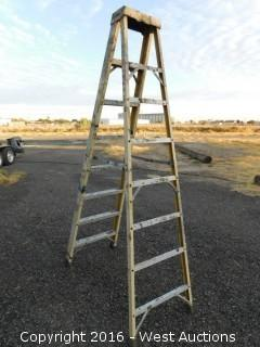 Greenlee 8' Fiberglass Folding Ladder