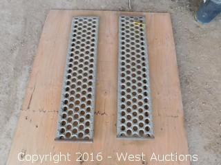 "(2) 44""x10"" Steel Ramps"