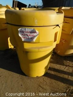 (1) Overpack Salvage Drum Hazmat Spill Kit